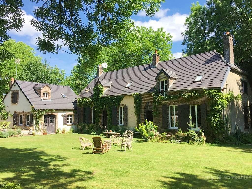 Cherche achat maison secondaire familiale, minimum 4 chambres, piscinable, sans vis-à-vis, Vexin ...