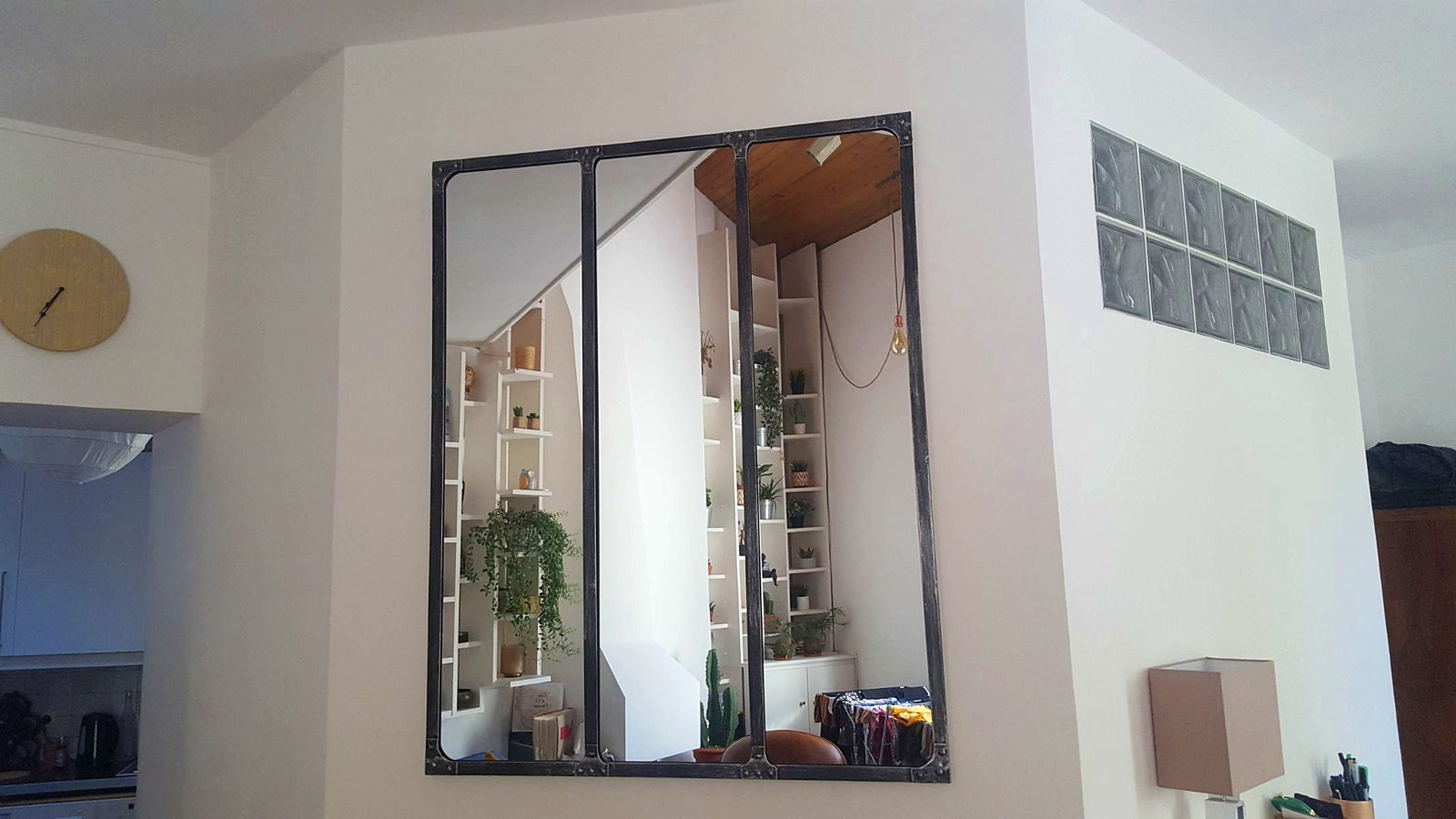 Miroir Maison Du Monde Industriel exclusivité gensdeconfiance] grand miroir style industriel