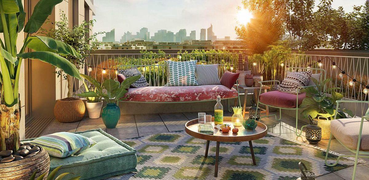 Vends Appartement T5 En Duplex De 117m Avec Grande Terrasse